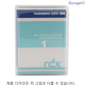 1TB 8586-RDX Tandberg HDD media for RDX